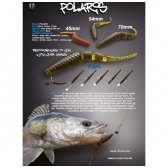 Crazy Fish POLARIS 68mm (pakelyje 8vnt)