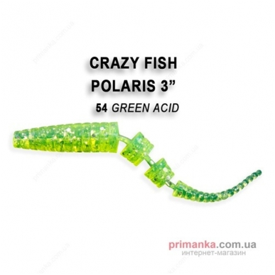 Crazy Fish POLARIS 68mm (pakelyje 8vnt) 13