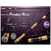 Crazy Fish FREEDOM FORCE spiningas 210cm, 0,8-5g