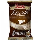 Sensas FEEDER BROWN 1kg jaukas